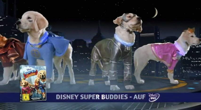 Super Buddies (DVD-Trailer) Poster