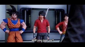 Die Realität trifft auf Anime-Welten: Trailer zum Story-Modus