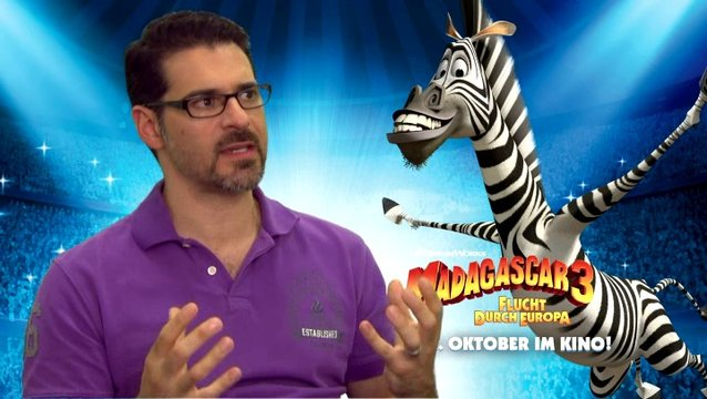 Rick Kavanian - Marty - warum er MADAGASCAR so gerne mag - Interview Poster