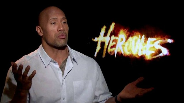 Dwayne Johnson - Hercules - über den Humor im Film - OV-Interview Poster