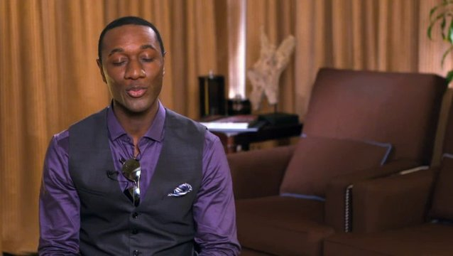 Aloe Blacc über seine Rolle - OV-Interview Poster