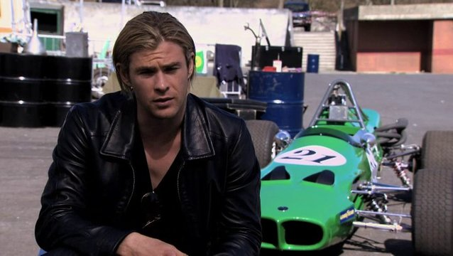 Chris Hemsworth -James Hunt-über die Figur James Hunt - OV-Interview Poster