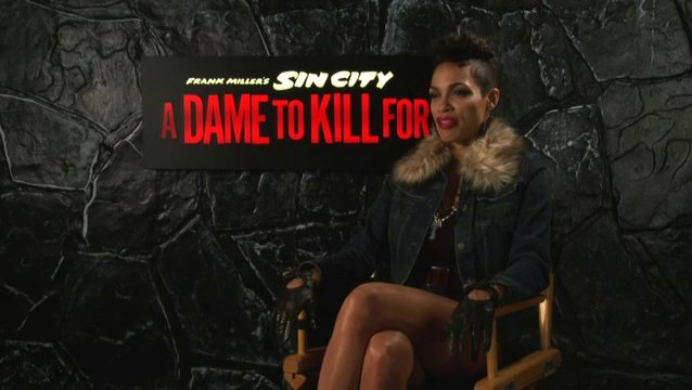 "Rosario Dawson (""Gail"") über die Figuren in Sin City - OV-Interview Poster"