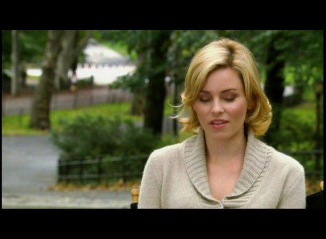 Interview mit Elizabeth Banks (Emily) - OV-Interview Poster