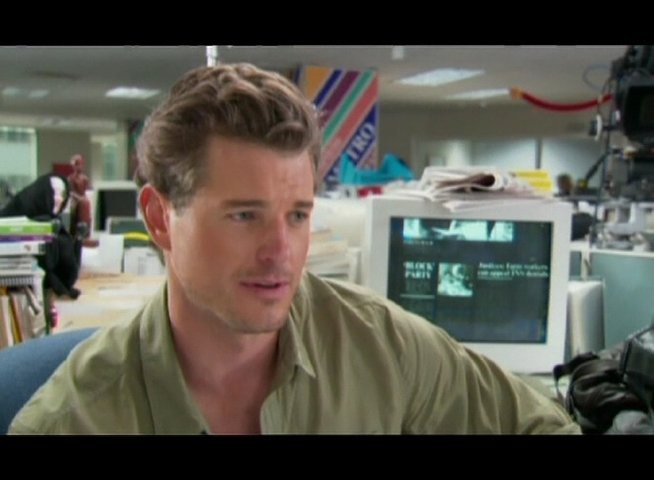 "Eric Dane ""Sebastian"" - OV-Interview Poster"