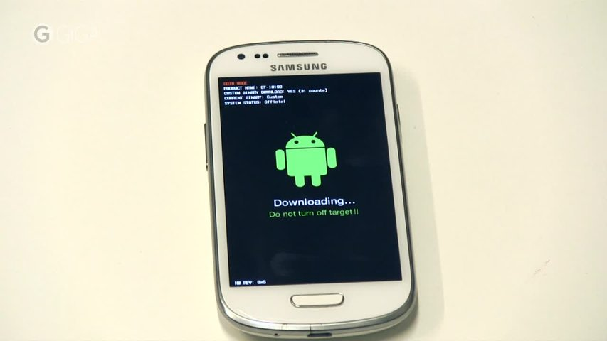 Overlay Galaxy Tech Downloading Do Not Turn Off Target S4