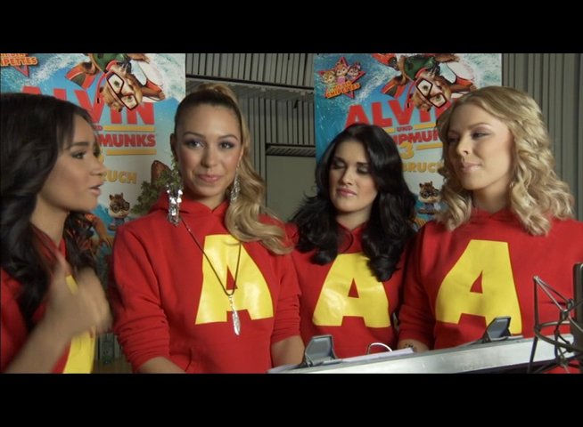 Queensberry über die Musik der Chipmunks und Chipettes - Interview Poster
