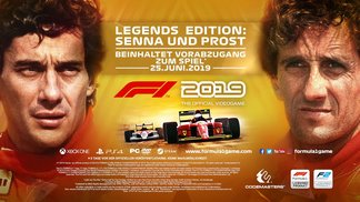 Legends Edition: Senna and Prost