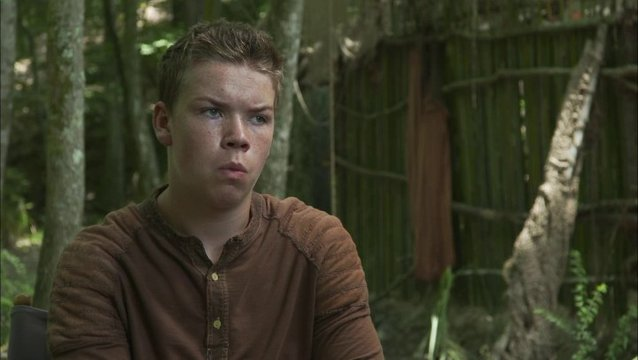 Will Poulter - Gally - über seine Rolle - OV-Interview Poster