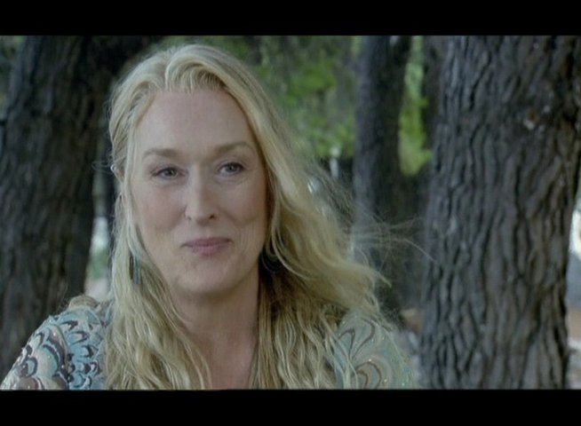 Interview mit Meryl Streep (Donna) - OV-Interview Poster