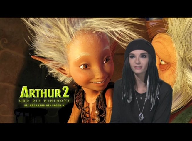 Bill Kaulitz - über Arthur - Interview Poster