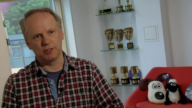 Nick Park - Executive Producer - über die Zielgruppe des Films - OV-Interview Poster