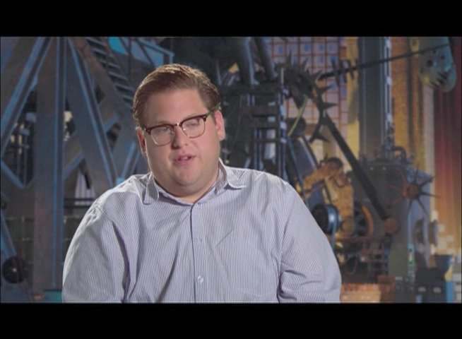 JONAH HILL / Original Stimme Hal - Tighten / ueber seine Rolle Hal -Tighten - OV-Interview Poster