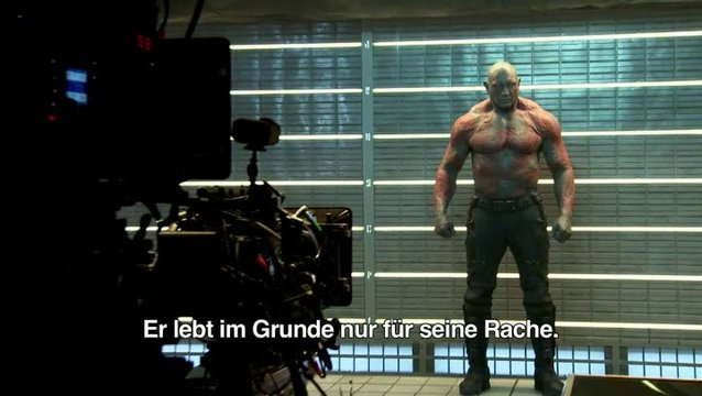 Character Clip - Drax - Featurette Poster