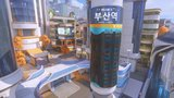 Entdeckt drei neue Schauplätze in Busan  - neue Kontrollkarte