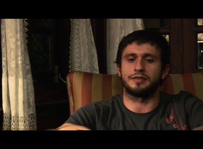 Dragos Bucur ueber seine Rolle - OV-Interview Poster