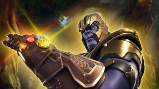 Avengers-Mashup mit dem Infinity-Handschuh von Thanos