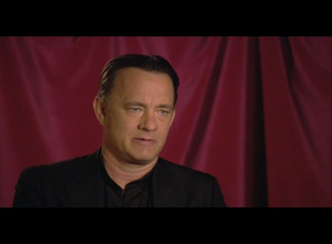 "Tom Hanks (""Robert Langdon"") über seine Rolle - OV-Interview Poster"