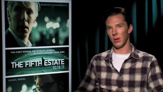 Benedict Cumberbatch  - Julian Assange - über Bill Condons schauspielerisches Talent - OV-Interview Poster