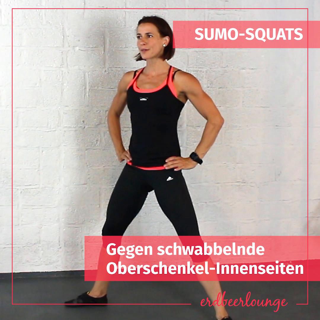 Sumo Squats Eileen Gallasch