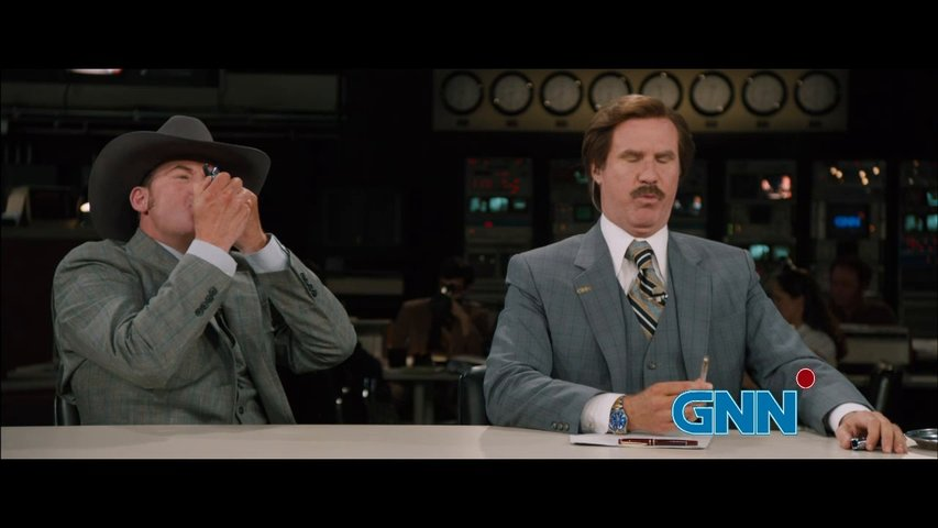Anchorman 2 - Trailer Poster