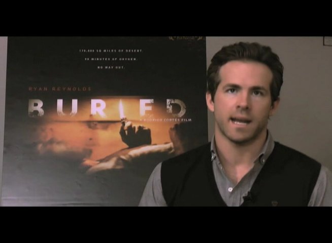 Ryan Reynolds über Rogrigo Cortes als Architekt - OV-Interview Poster