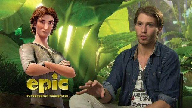 Raul Richter -Nod- über Nod als Leafman - Interview Poster