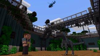 Willkommen im blockigen Jurassic Park!