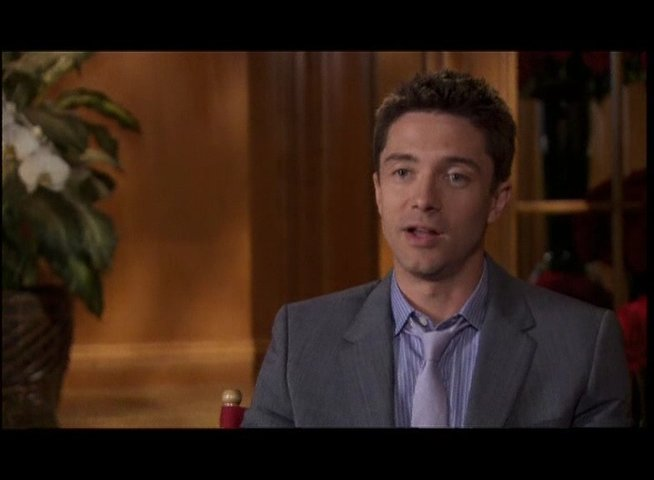 Topher Grace - Jason Morris - OV-Interview Poster