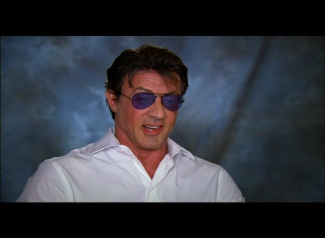 Sylvester Stallone über die Story - Teil 3 - OV-Interview Poster