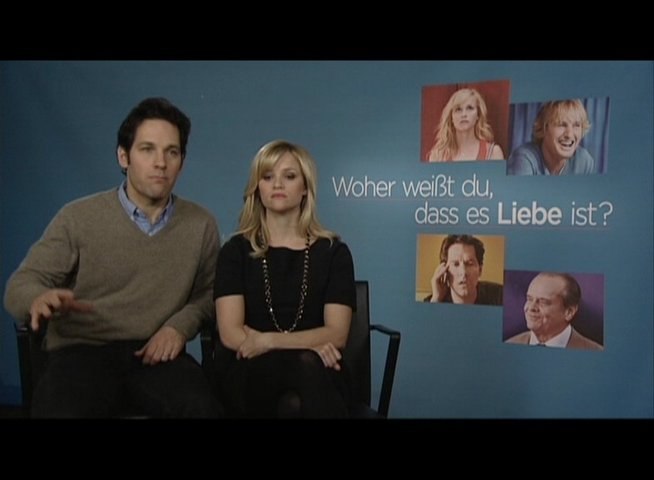 Exklusivinterview mit Reese Witherspoon und Paul Rudd - OV-Interview Poster