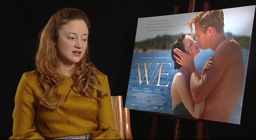 Andrea Riseborough -Wallis Simpson- über den Film WE - OV-Interview Poster