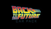 Rocket League - Back to the Future - Car Pack