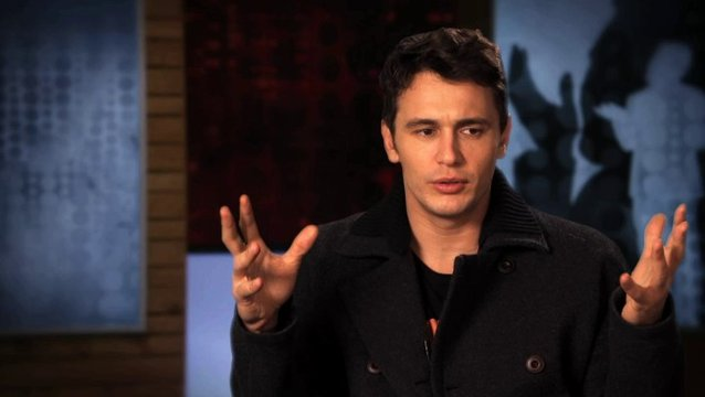 James Franco über Improvisationen - OV-Interview Poster