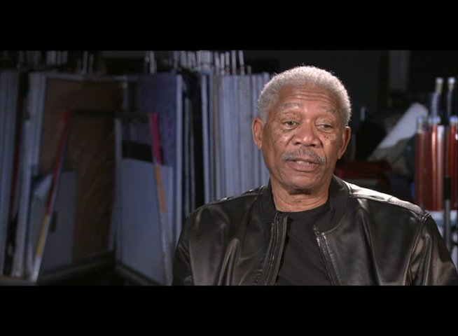 "Morgan Freeman (""Joe Matheson"") über seine Rolle - OV-Interview Poster"