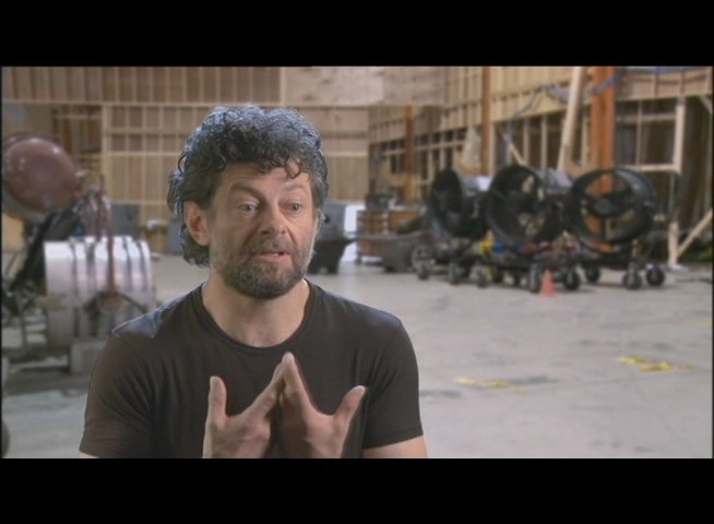 Andy Serkis (Caesar) über Performance Capture - OV-Interview Poster