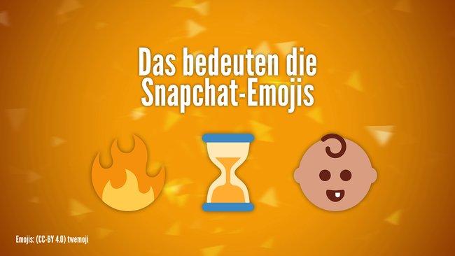 Bedeuten snapchat smileys was die bei Snapchat Smileys: