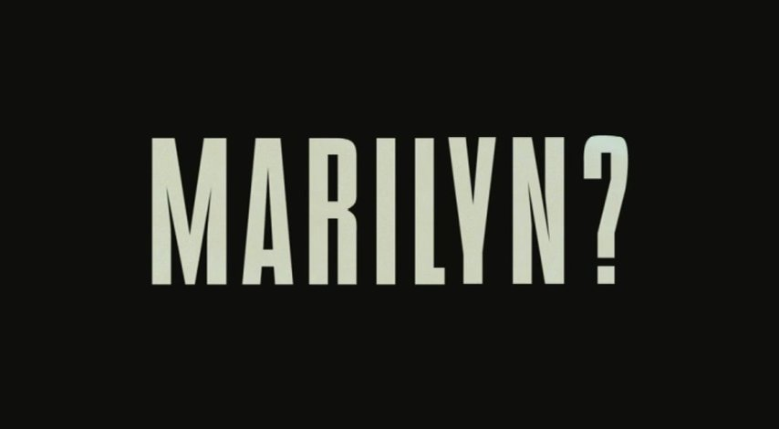 Who Killed Marilyn? - Trailer Poster