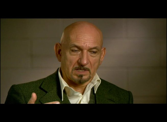 Sir Ben Kingsley über den Cast - OV-Interview Poster