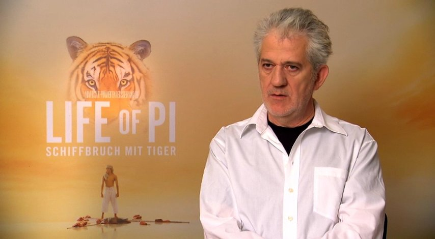 "Ilja Richter über den Tiger ""Richard Parker"" - Interview Poster"
