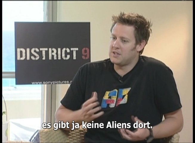 EXKLUSIV: Neill Blomkamp über DISTRICT 9 - Interview Poster