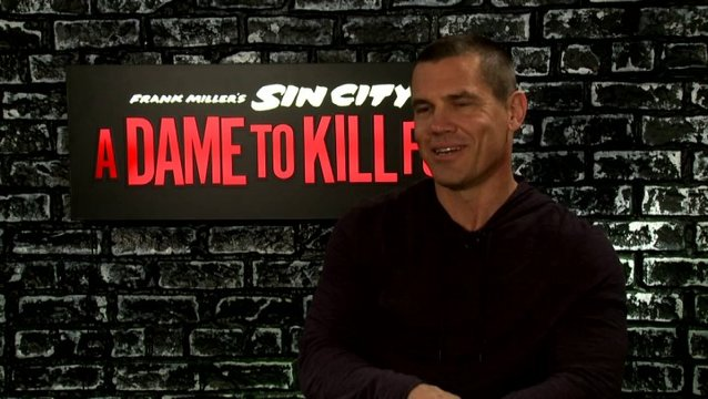 "Josh Brolin (""Dwight McCarthy"") über Eva Green - OV-Interview Poster"