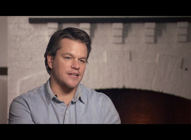 Matt Damon (La Boeuf) über Mattie Ross - OV-Interview Poster