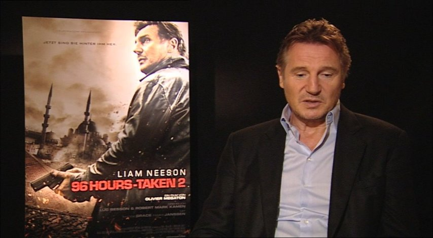 Liam Neeson über den Plot des Films - OV-Interview Poster