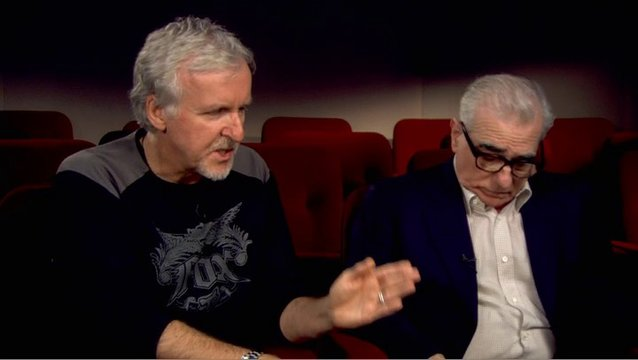 Martin Scorsese und James Cameron - Featurette Poster
