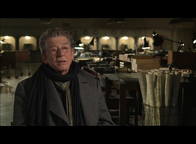 JOHN HURT -Control- über Smiley - OV-Interview Poster