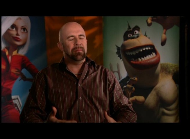 Conrad Vernon / über die Entstehung von MONSTERS vs ALIENS - OV-Interview Poster