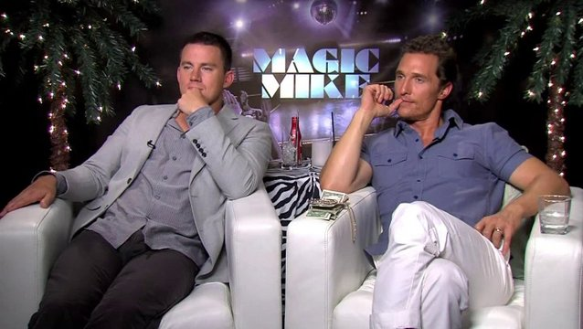 Channing Tatum und Matthew Mc Conaughey Teil 2 - OV-Interview Poster