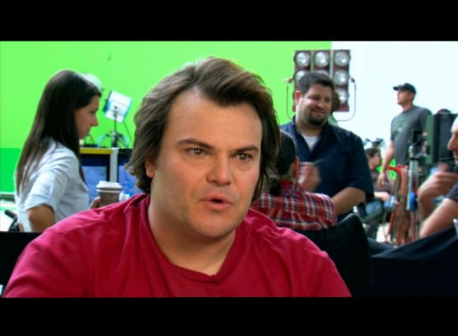 Jack Black über die Story - OV-Interview Poster