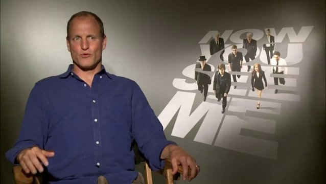 Woody Harrelson - Merritt McKinney - über die Motive der The Four Horsemen - OV-Interview Poster
